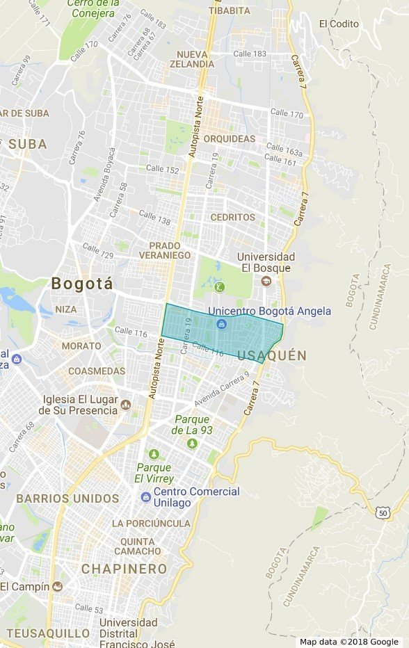 Best Neighborhoods in Bogota Santa Barbara