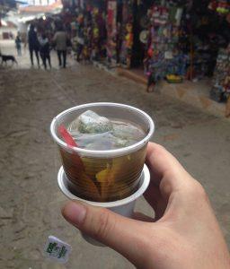 Coca tea drink