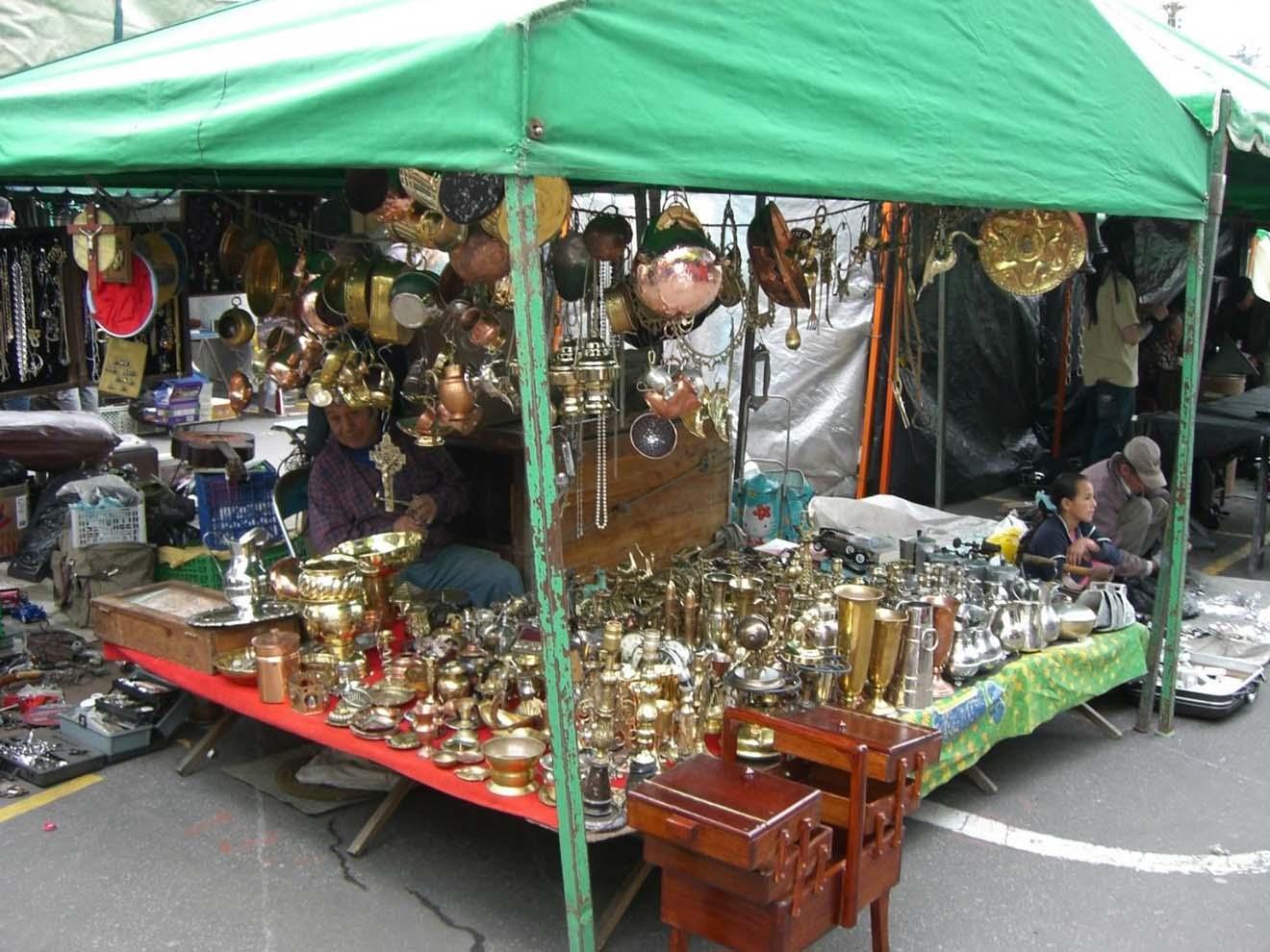 Flea markets in Bogotá