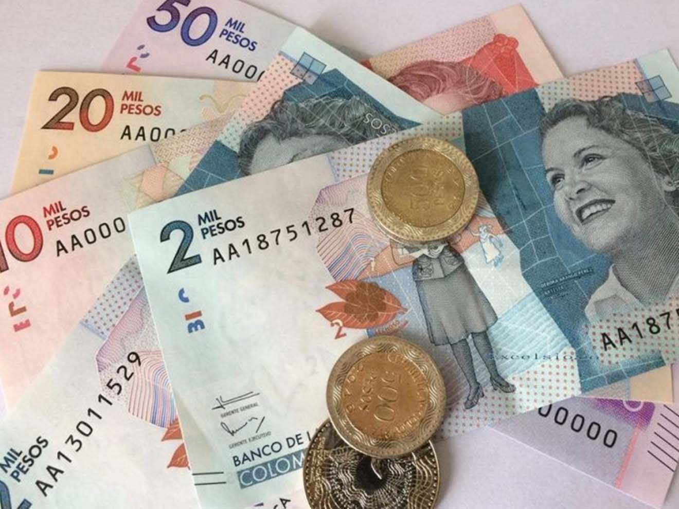 Currency in Colombia