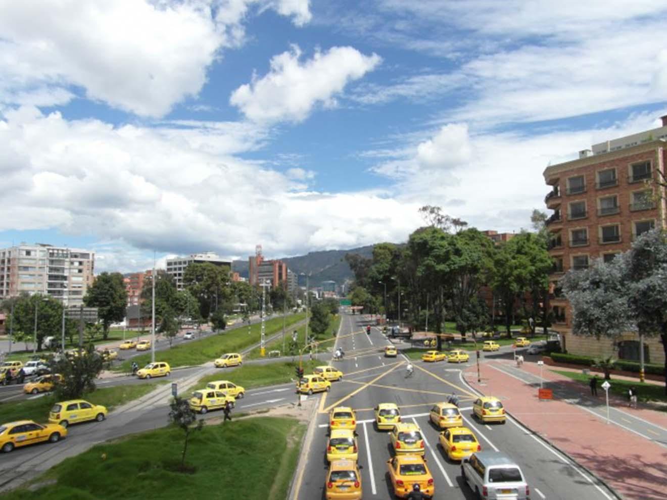 Taxi in Bogotá