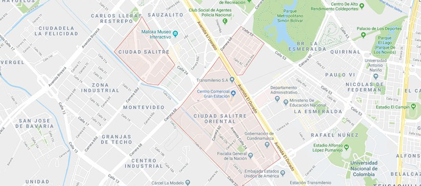 Best Neighborhoods in Bogotá
