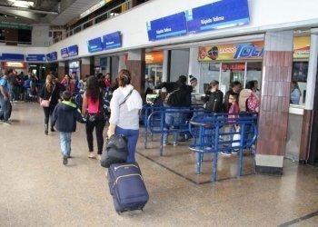 Bus terminals in Bogotá
