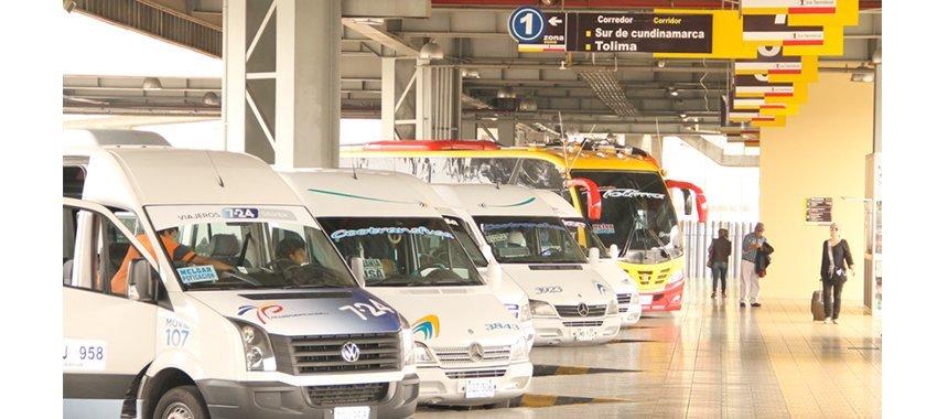 Bus Terminal in Bogotá