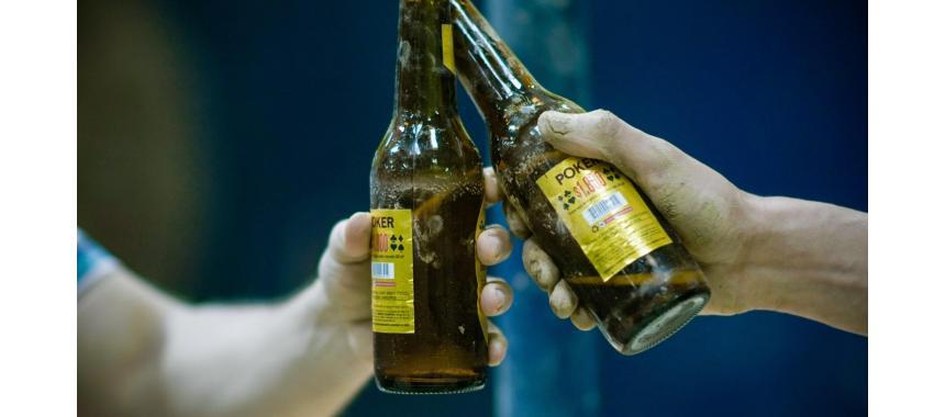 Poker Beer Bottles