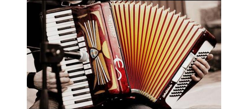 Traditional instrument: acordeón