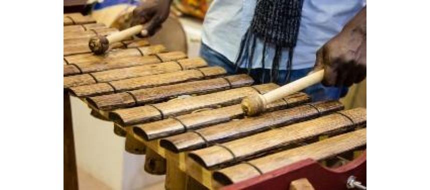 Traditional Marimba de chonta