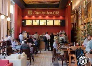 Juan Valdez store in Bogotá
