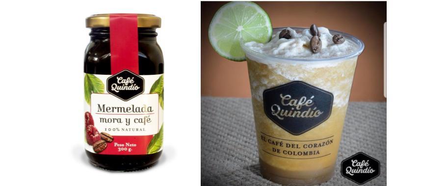 Coffee jam and iced capuccino