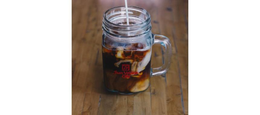 Juan Valdez iced coffee