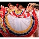 Kids dancing Cumbia