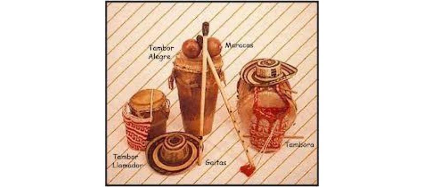 Main Cumbia´s instruments