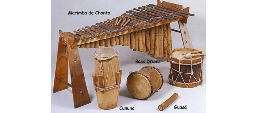 Main Currulao´s instruments