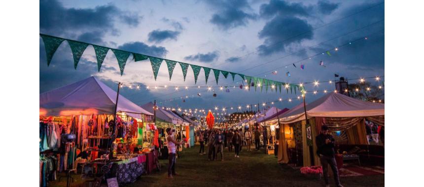 Hippie market at Estéreo Picnic