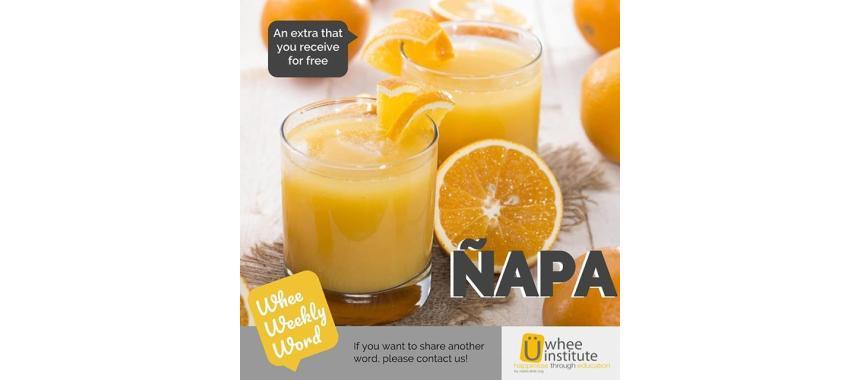 Orange juice word