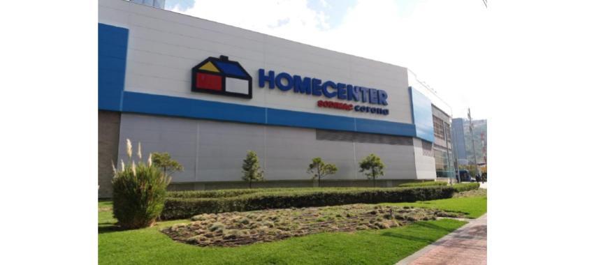 Homecenter store facade