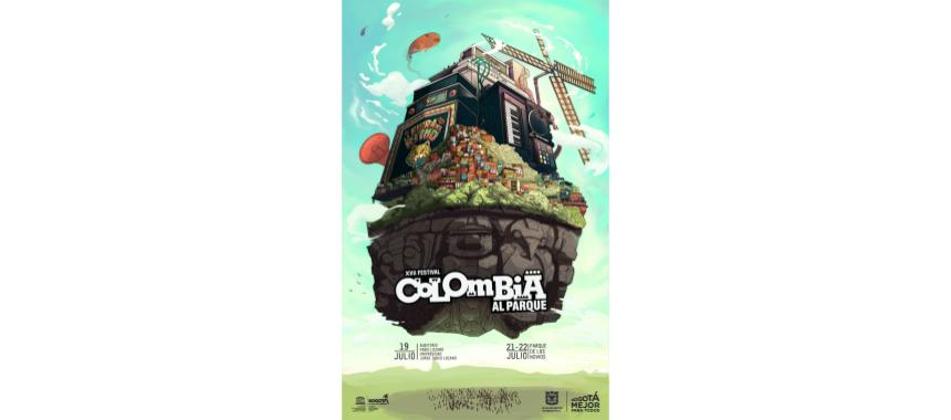 Main poster of Colombia al Parque