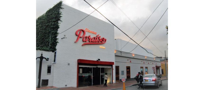 Cinema Paraíso Facade in Usaquén