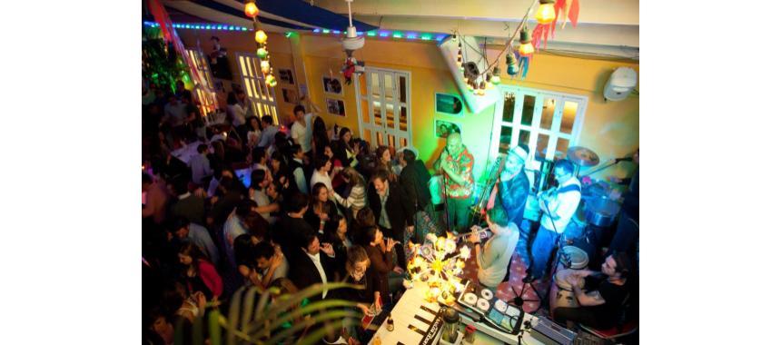 Salsa bar in Bogotá