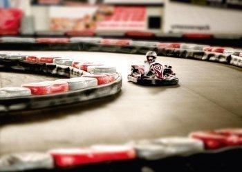 Go-karts race