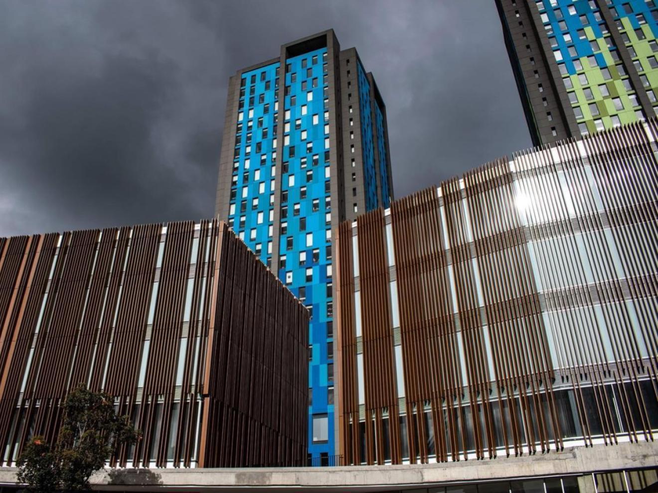 Facade Nueva Cinemateca in Bogotá