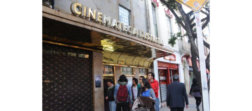 Old Cinemateca in Bogotá