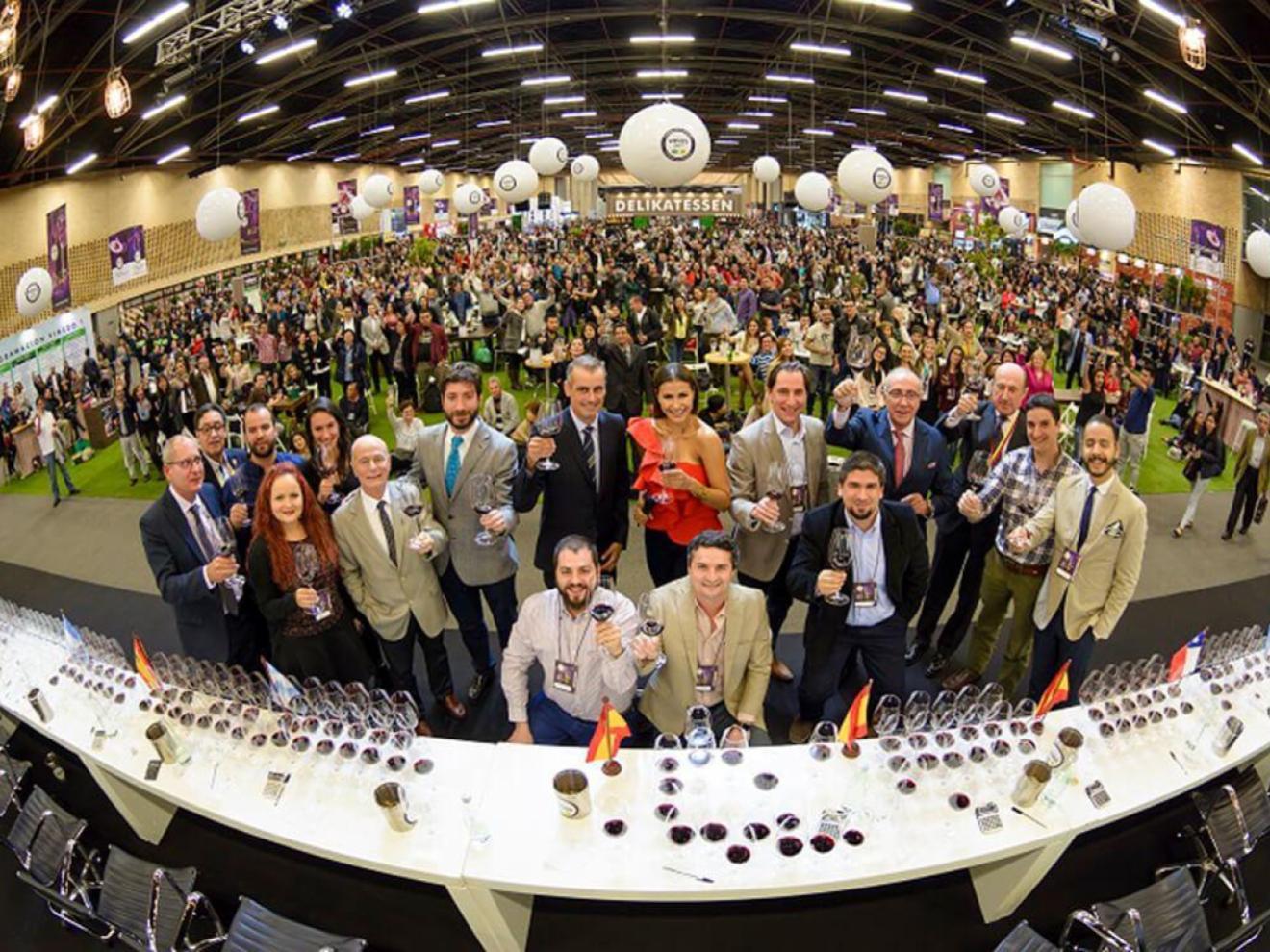 Wine tasting panel 2018