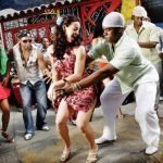 People dancing merengue