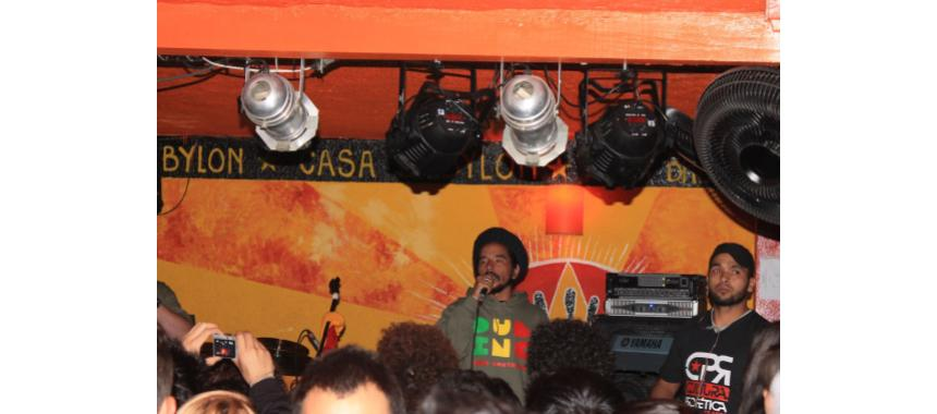 Dub Inc. Gig at Casa Babylon in Chapinero