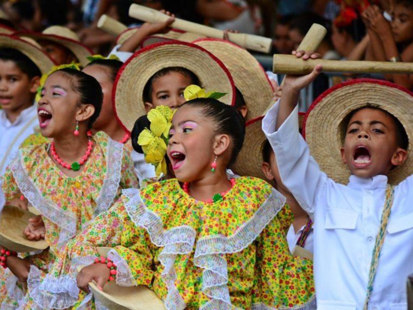 Vallenato dancing