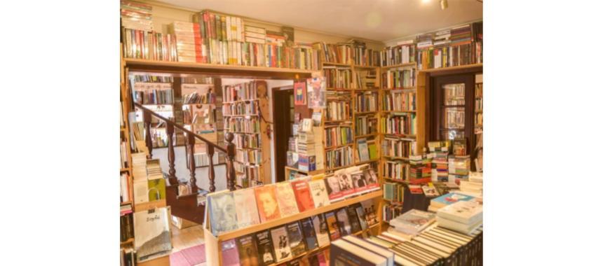 Indoors bookstore
