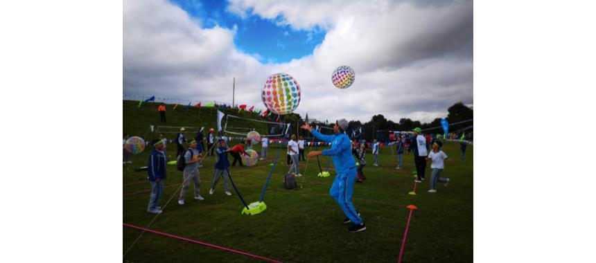 Children activities at the Festival de Verano