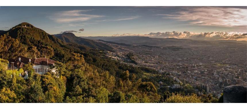 Monserrate Hill in Bogotá
