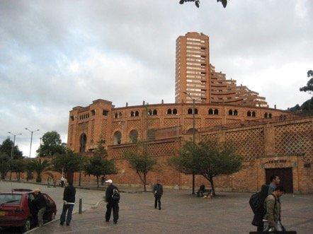 Plaza de Toros la Santamaria, one of the main venues