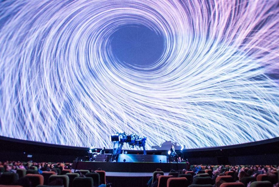 Planetario de Bogotá (A concert in the dome of the planetarium