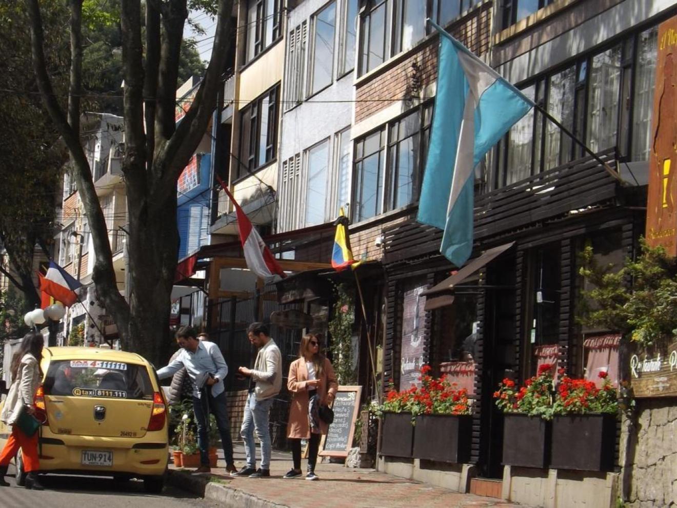 La Macarena neighborhood