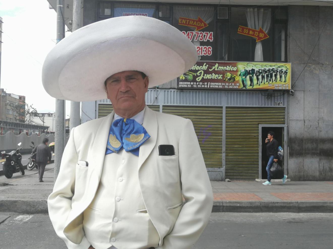 Mariachi in Bogotá