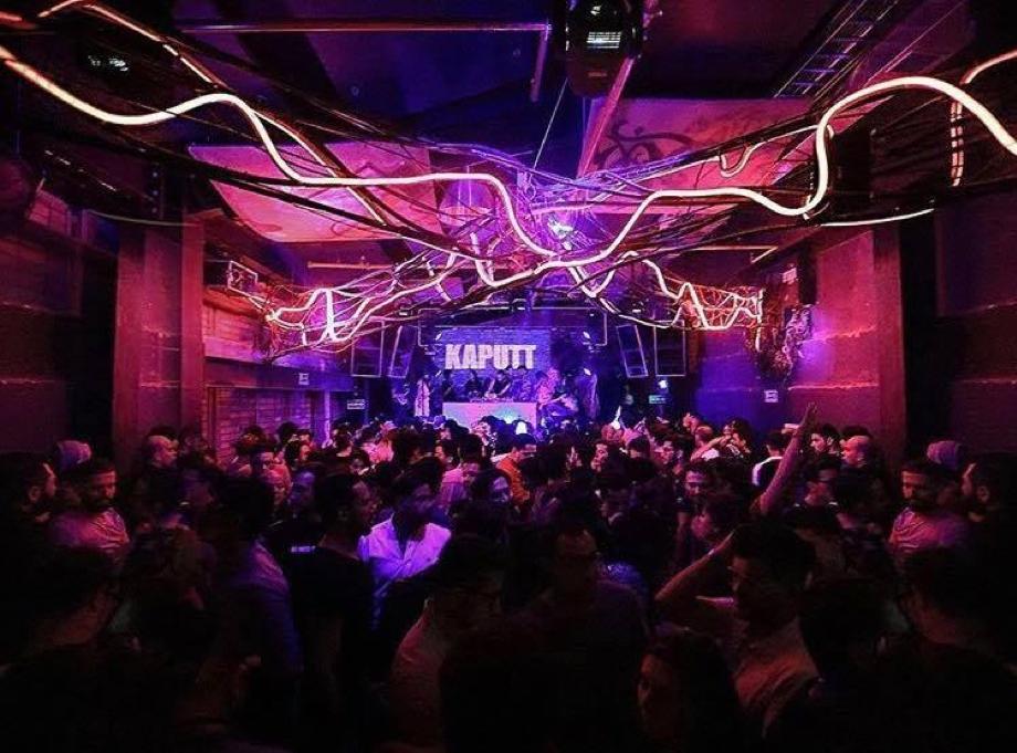 Electronic party at Bogotá