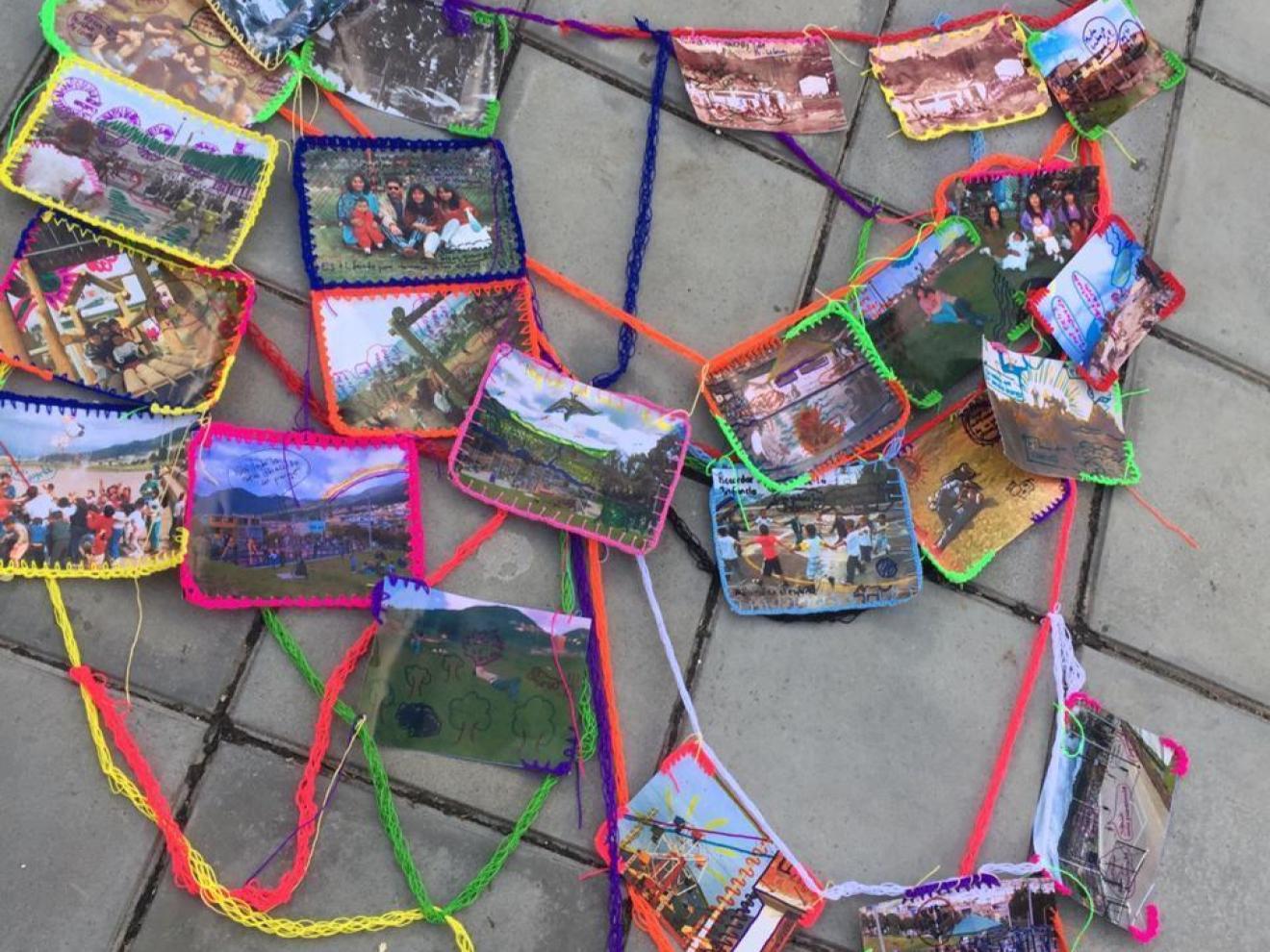 Knitting movement in Bogotá
