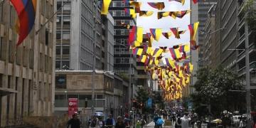 Bogotá on Sunday