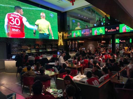 Sports bars in Bogotá