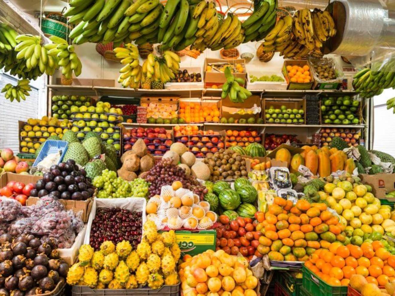 Fruit Markets in Bogotá