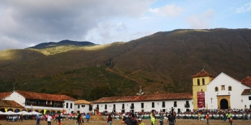 Main plaza in Villa de Leyva