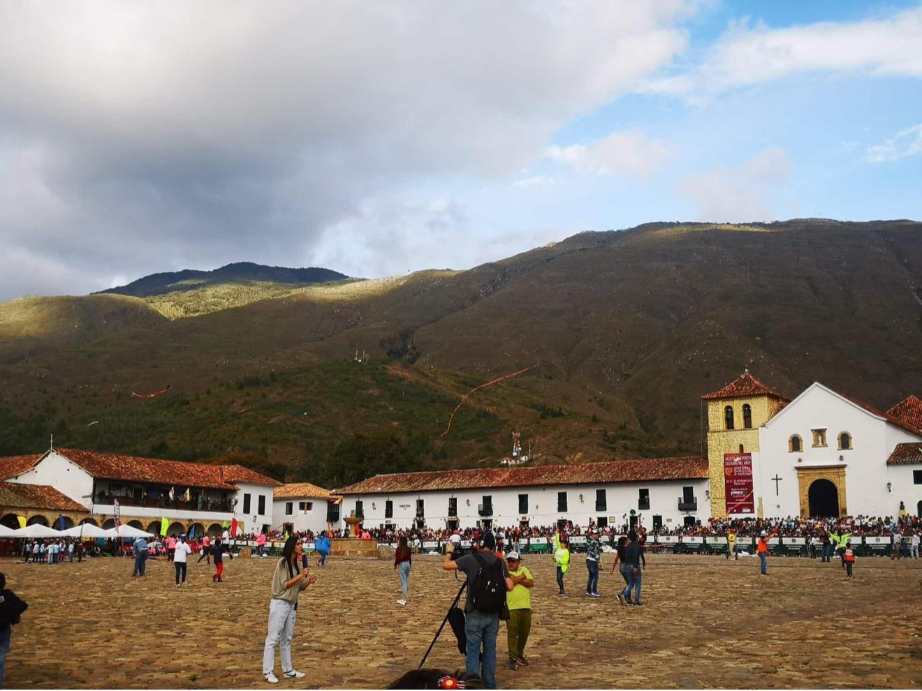 Main plaza in Villa de Leyva