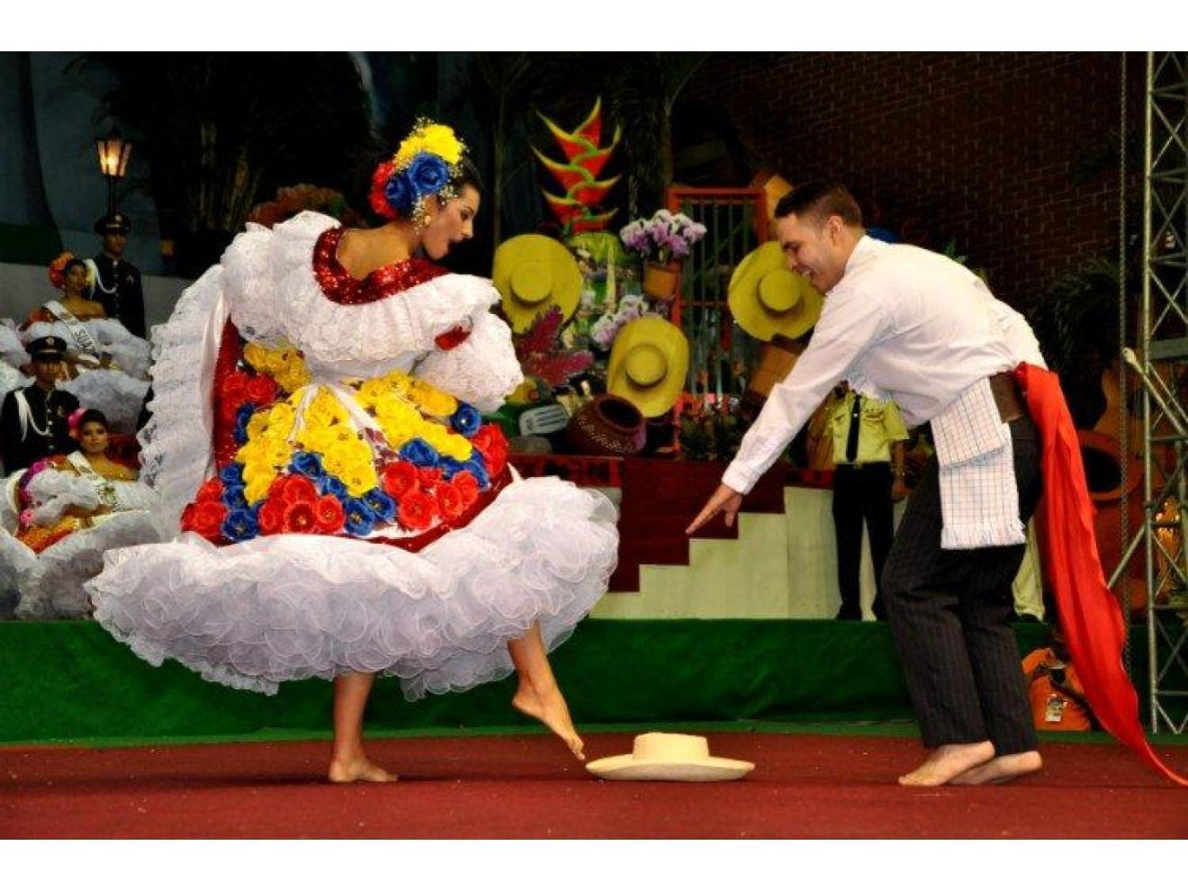 Bambuco's dancers
