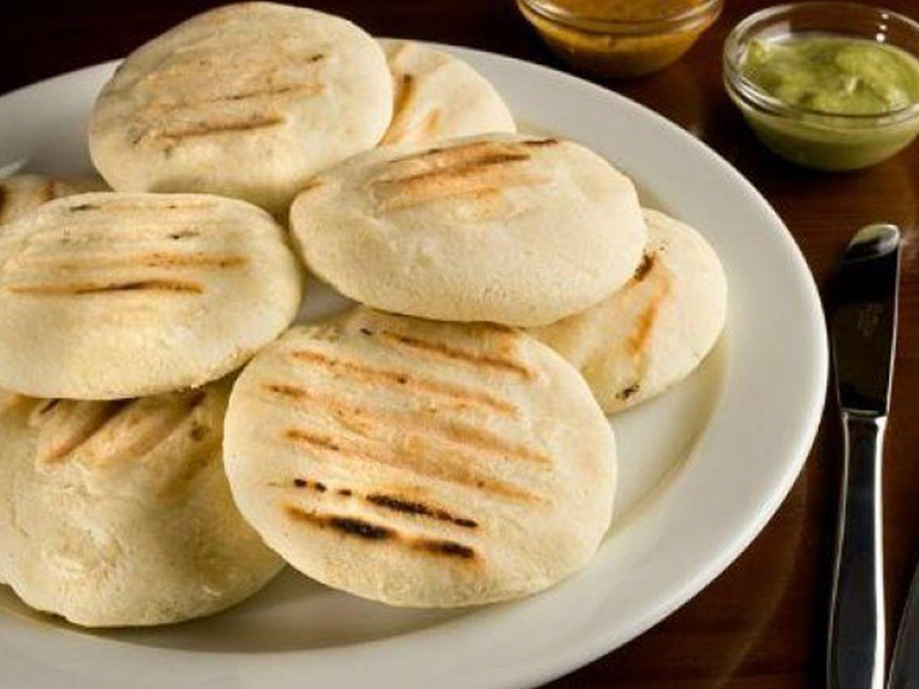 arepas Colombian Food