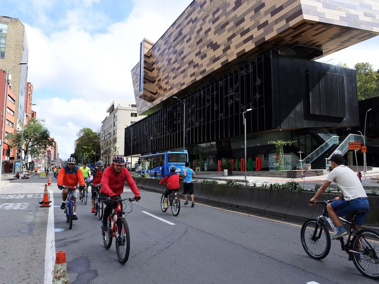 bike rentals in Bogotá