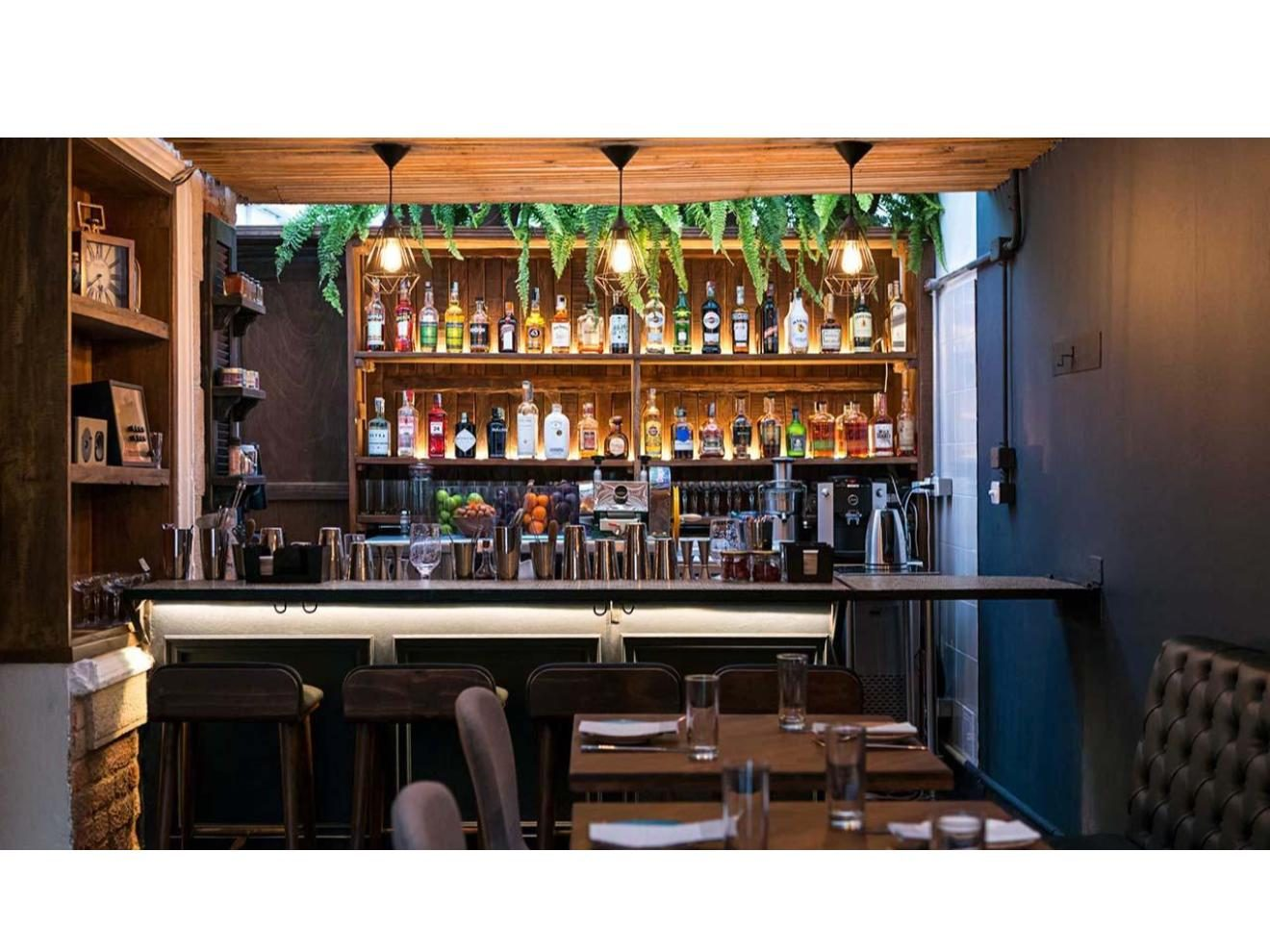 Indoors bar